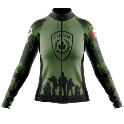 Canada Army Long Sleeve Jersey