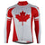 Long Sleeve Canada Maple Leaf Jersey