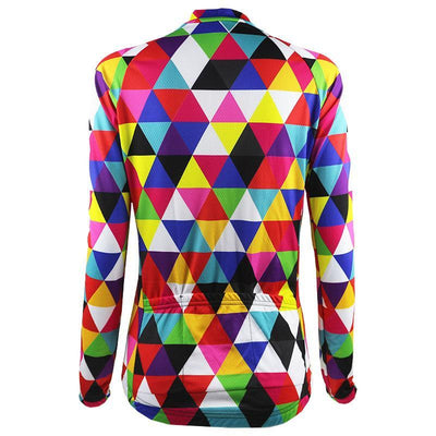 Multi Color Long Sleeve Jersey