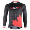 Thermal  Black Maple Leaf Jersey