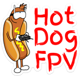 "10"" Harold HotDogFPV Sticker Pack"
