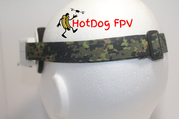 Digital Jungle Camouflage Goggle Strap v1 - HotDogFPV