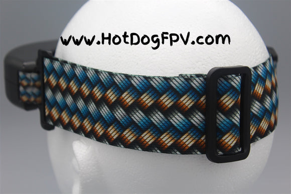Braided Metal Double Wide Goggle Strap v1 - HotDogFPV