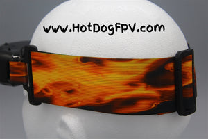 Flame Double Wide Fatshark Goggle Strap v1