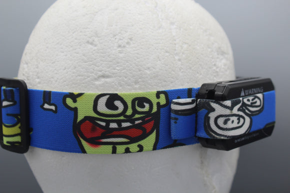 Buttchin Noob Cartoon FPV Fatshark Goggle Strap v2