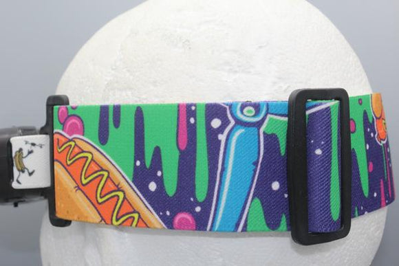 Hot Dogs in Space Fatshark Goggle Strap v2