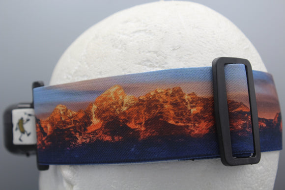 Panorama Teton Mountains FPV Goggle Strap