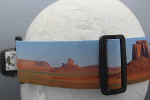 Panorama Monument Valley FPV Fatshark Goggle Strap v2