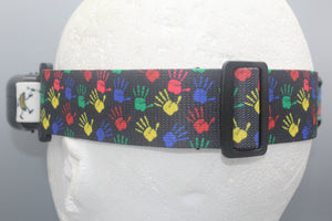 Colorful Paint Hands Fatshark Goggle Strap