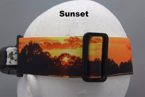 Panorama Sunset Goggle Strap v2