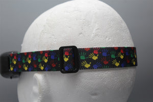 Colorful Paint Hands Fatshark Goggle Strap v2