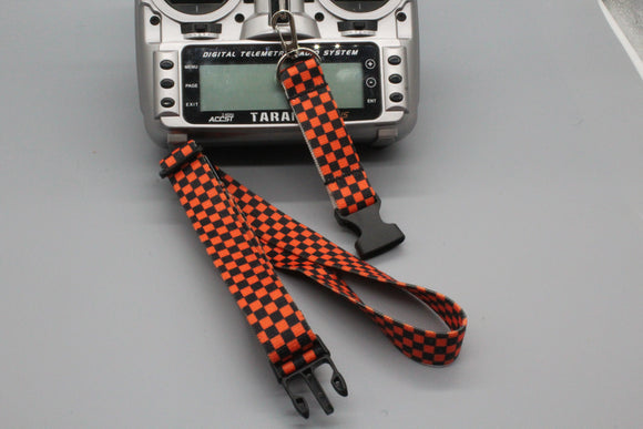 Checkered Transmitter Strap v2