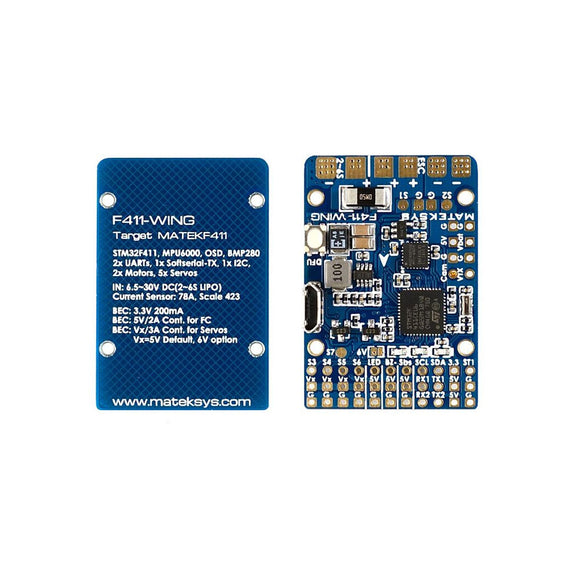 Matek F411-WING Flight Controller