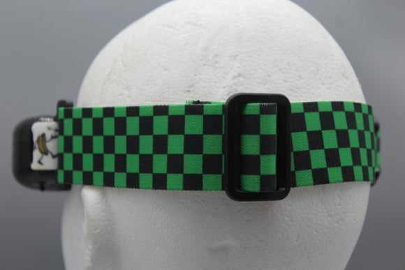 Green and Black Checkered Wider Set