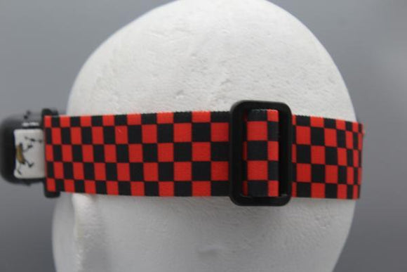 Red and Black Checkered Wider Set
