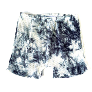 Blue Tie Dye Boy Shorts/Bummies