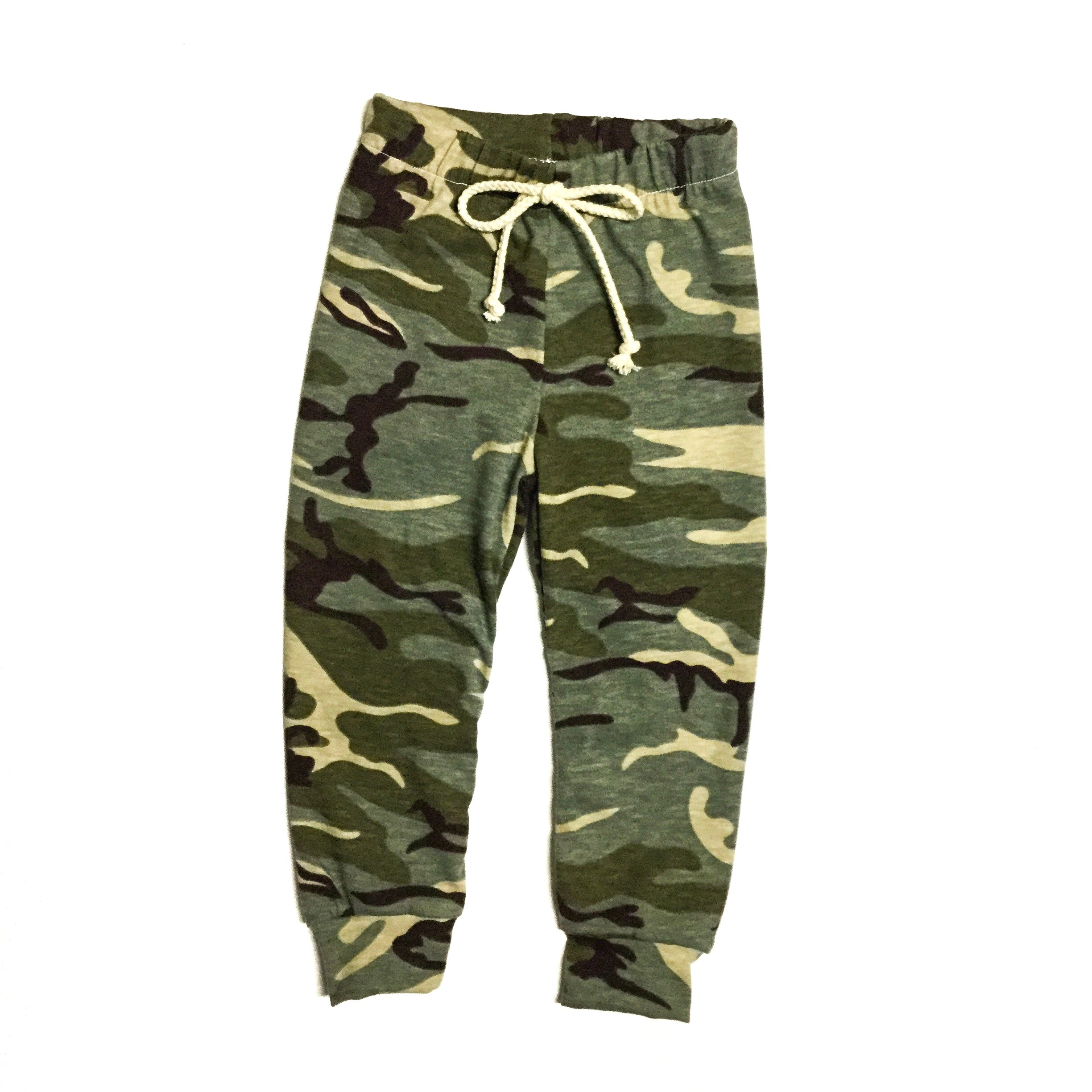 kids and toddler camo joggers handmade pants for kids from little posh babes