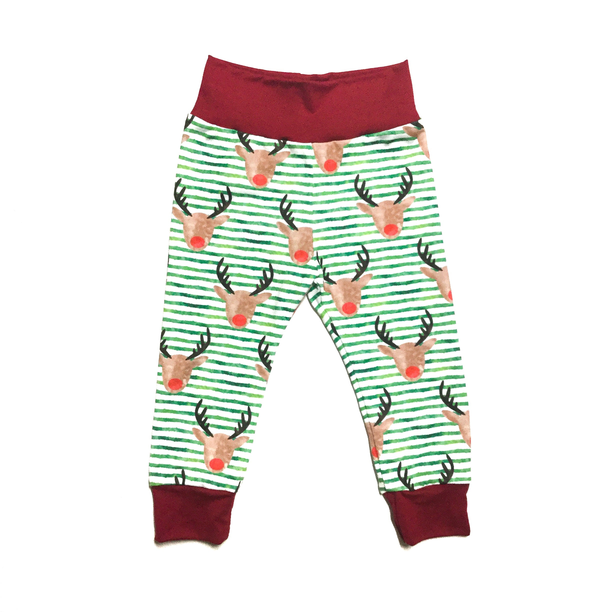 cute handmade toddler pants for christmas