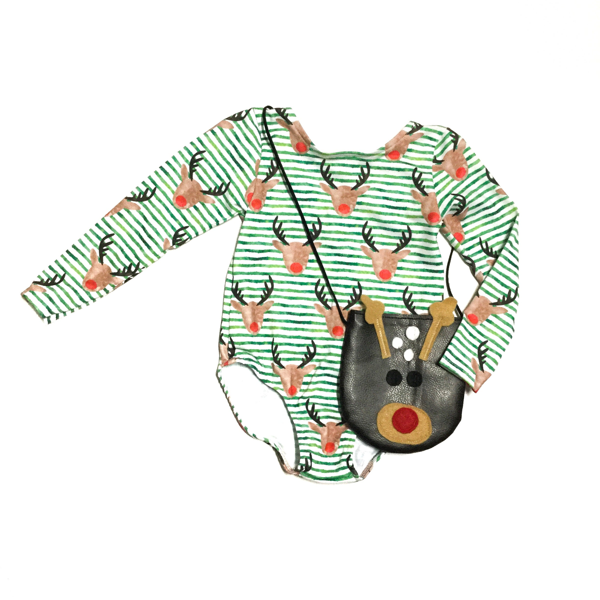 Rudolph the red nose reindeer toddler purse