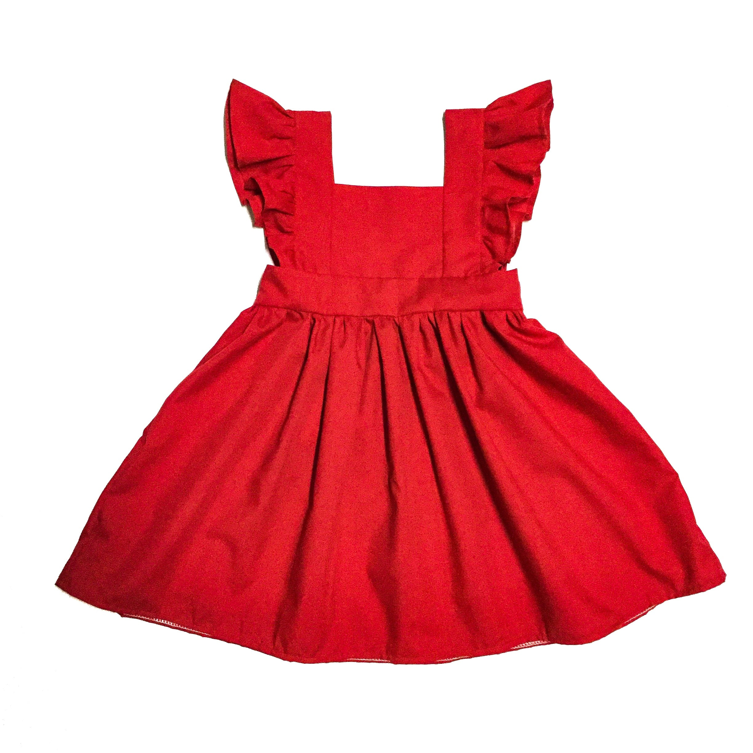 red pinafore dress unique jumper dresses for toddlers little posh babes