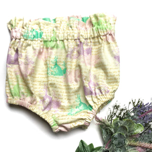 Pastel Bunny High Waisted Bloomers