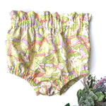 spring easter chick shorts for toddler girls little posh babes handmade