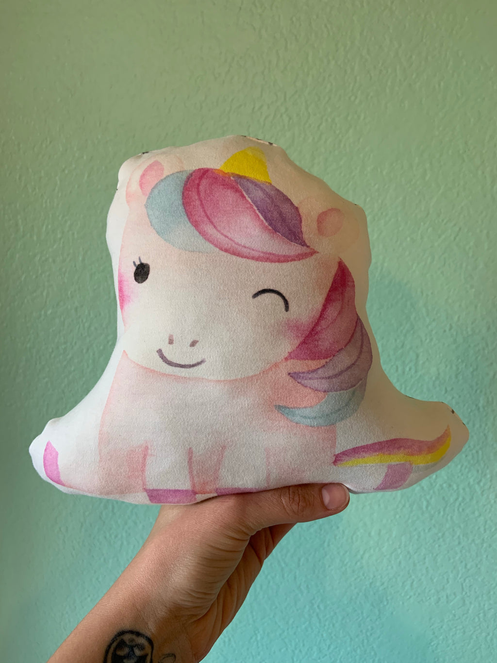 Unicorn Plush Pillow - LittlePoshBabes