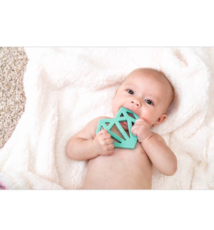 baby boy heart teether minimalist baby toys and gifts