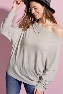 Grey OTS Woman's Sweater