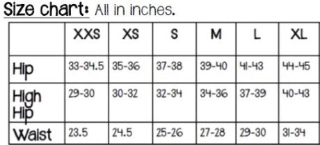legging size chart women lululemon high waist leggings