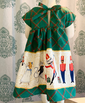 Nutcracker Dress RTS 3t - LittlePoshBabes