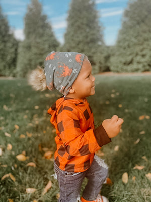 Pom Beanie Hats for Babies + Kids - LittlePoshBabes