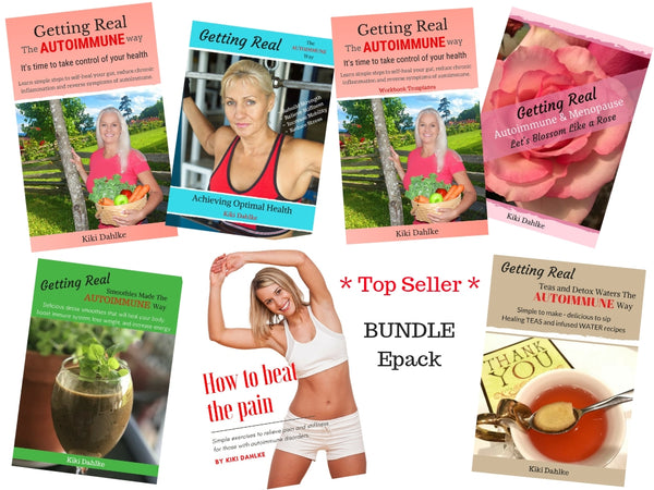 Get Real and heal your gut - Bundle ePack  **Best Seller**  (7 Digital Books)