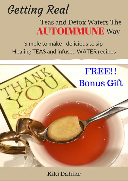 Getting Real - Smoothies Made The Autoimmune Way  (Digital Book)