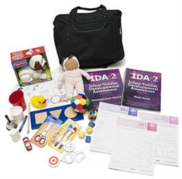 Infant-Toddler Developmental Assessment IDA-2 Complete Kit - IDA IDA-2 Manual Form Kit for Infants and Toddlers