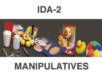 IDA-2 Manipulatives Kit - IDA IDA-2 Manual Form Kit for Infants and Toddlers
