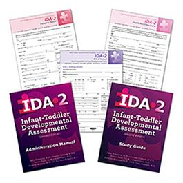 COMPLETE IDA-2 FORMS and MANUALS KIT - IDA IDA-2 Manual Form Kit for Infants and Toddlers