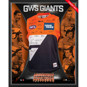 GWS GIANTS Team Signed 2016 Guernsey