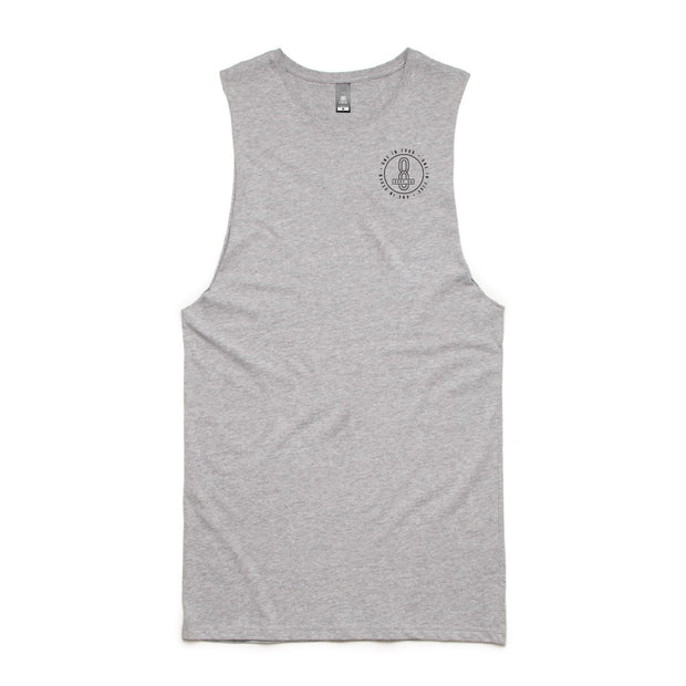 Tall Barnard Tank (Grey)