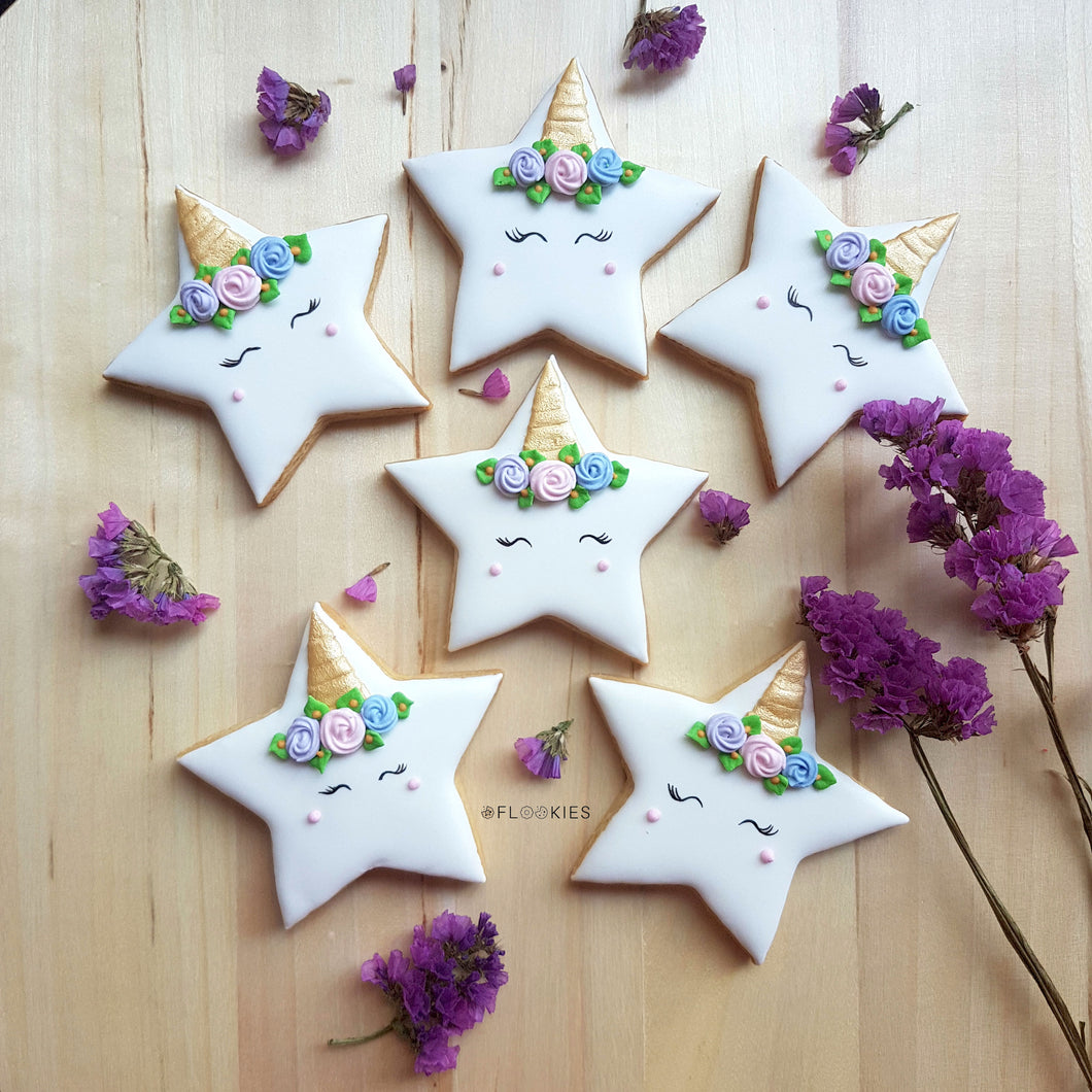 Unicorn Stars (Pack of 6)