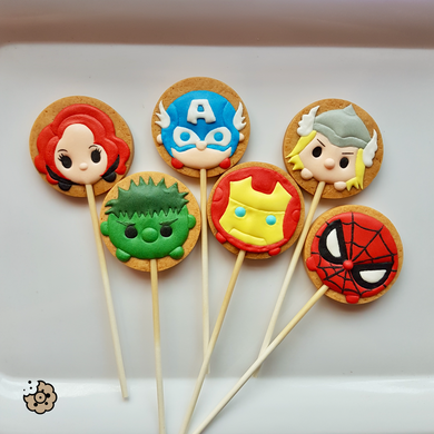 Avengers Birthday Party (Pack of  Six)