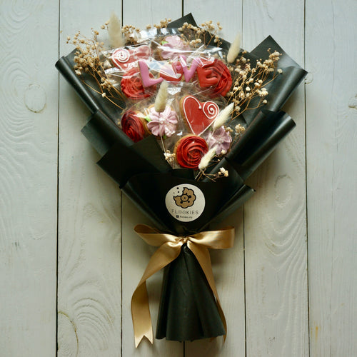 Valentine Flookies Bouquet