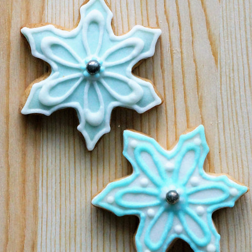 Snowflakes Blue Pack of 2