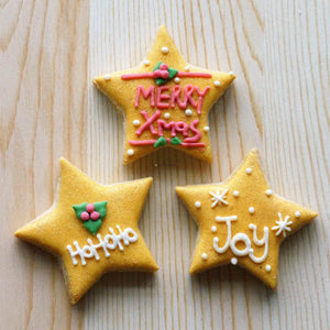 Christmas Stars Pack of 3