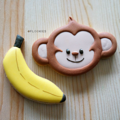 Monkey Head & Banana