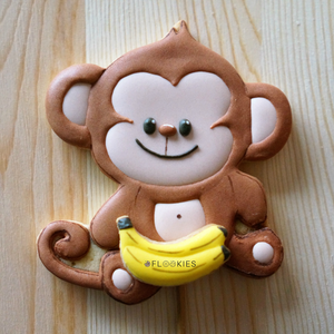 Monkey with Bananas
