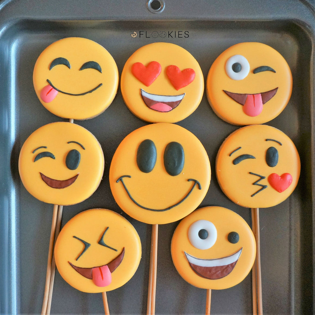Happy Faces (Pack of Eight)