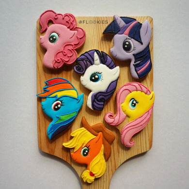 My Little Ponies (Pack of 6)
