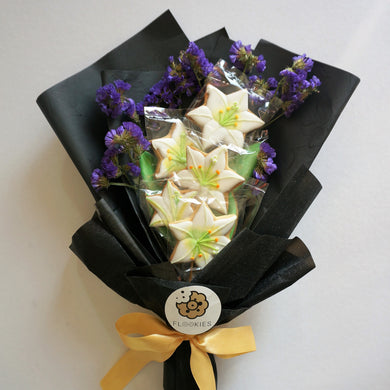 White Lilies Flookies Bouquet