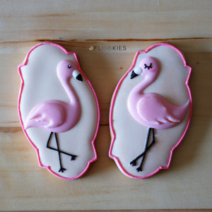 Summer Flamingos  (Pack of 2)